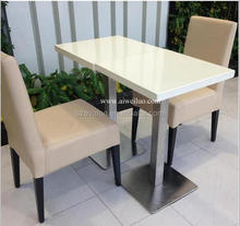 korean table top walmart table and chairs,solid surface restaurant Table with Chairs,coffe table