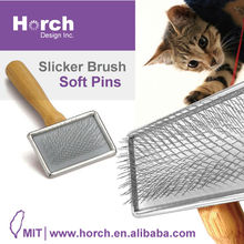 Ultimate touch gentle slicker pet hair clipper and pet hair remover