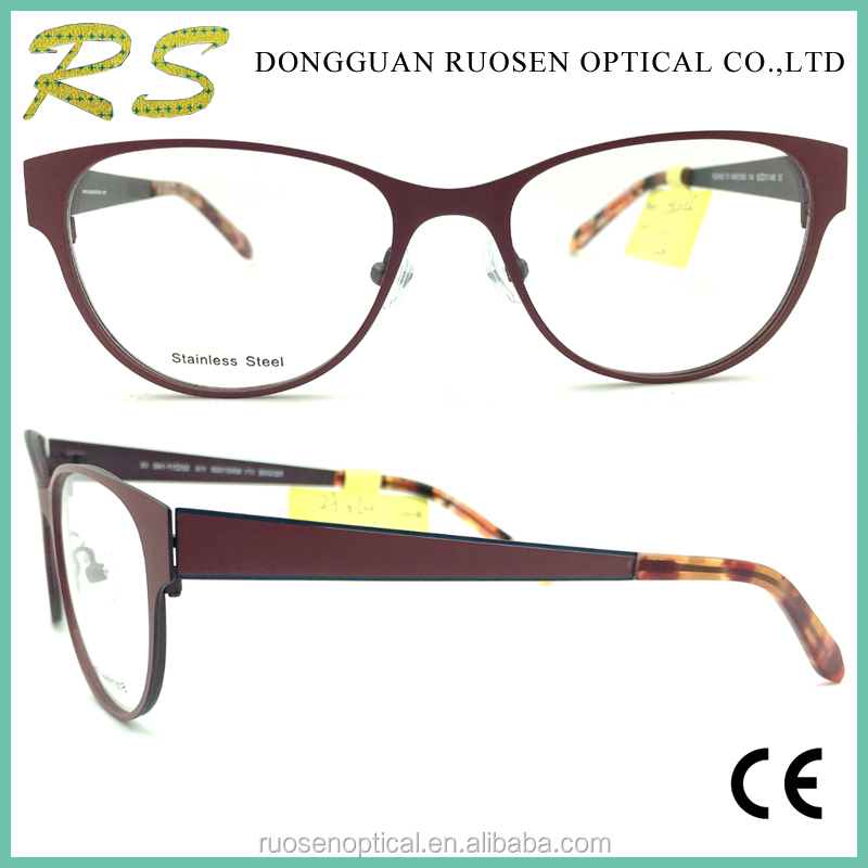 Vogue optical eyewear frames eyeglass frame italy designer optical acetate and metal frames