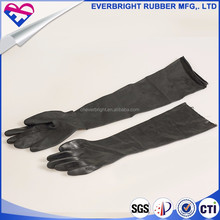 China direct factory top quality heavy duty resistance chemical rubber gloves