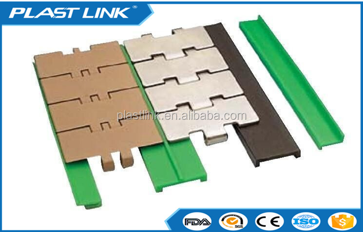conveyor plastic polyethylene wear strip UHMW PE hdpe upe bend chain guide