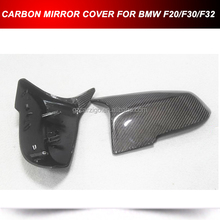 Real Carbon Fiber Door Side Mirror Covers Shells For BMW F20/F30/F32 M TYPE