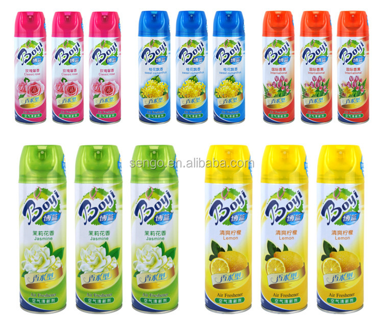 long lasting smell air freshener aerosol spray