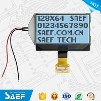 12864 monochrome lcd display 128x64 graphic fstn lcd screen