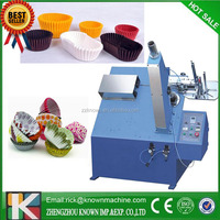 automatic cupcake liner make machine with CE standard for oil-proof/cellophane/Aluminium foil paper