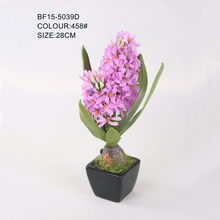 Hot Sale Light Purple Water Artificial Hyacinth Flowers, Silk Hyacinth