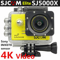 SJCAM SJ5000X 12MP IMX078 Sensor SJ5000X Elite Edition action camera 4k mini wifi camera
