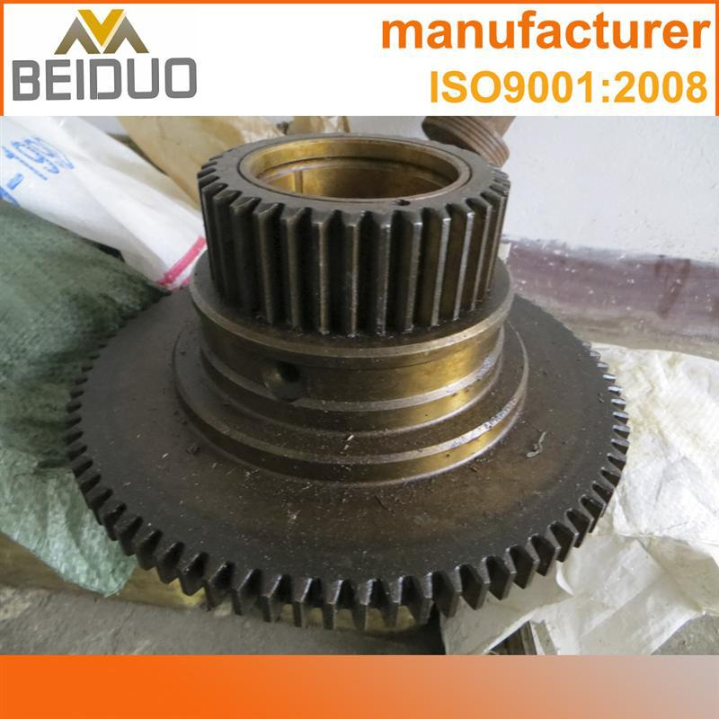 CNC machin finished bevel gear stainless steel spur gears