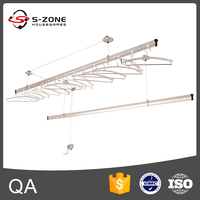 High Quality Ceiling Mounted Aluminum Clothes Drying Rack