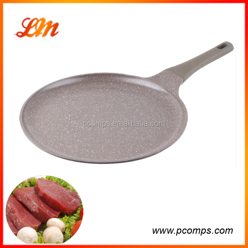 With bakelite handle for pancake factory price Round frying pan