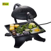 Good quality 2015 Non-stick smokeless built in electric oven