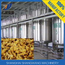 High quality automatic machinery Ginger juice production line/fresh Banana /kiwi processing equipment