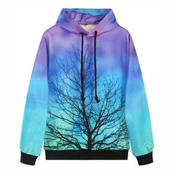 Pullover Fleece Full Printed Sweatshirt