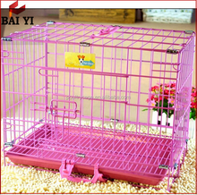 Alibaba China Sale Colorful/Folding/ Decorative Dog Crates Kennels Dog Cage