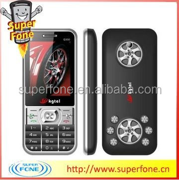 Quad band 2.4 inch QVGA screen cheap stylish mobile phone support multi language (Q300)