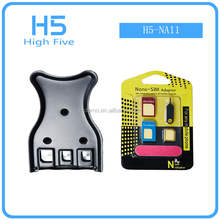 Universal 3 in 1 Micro Nano SIM Card Cutter For iPhone Cell Phone