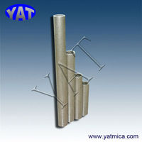 China Manufacturers Size small error! Heat resistant electrical mica tube