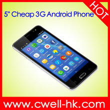 New Arrival 5 inch WCDMA 3G Low Price Alps A3 Dual SIM Card China Mobile Phone Android Smartphone