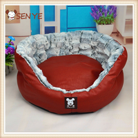 Hot Selling NEW Lovely Cortex Round Shape Sofa Comfortable Cotton Pet Bed Dog Bed