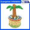 summer inflatable palm tree ice bucket