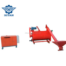 mixing the material evenly XF10 lightweight concrete block making machine