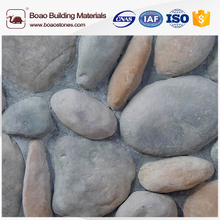 Artificial cultured cobble river rock stone veneer panels lowes with high quality