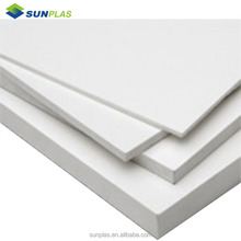 1.0mm to 20mm White PVC Foam Board for Advertising printing and construction / Building materials/plastic sheet