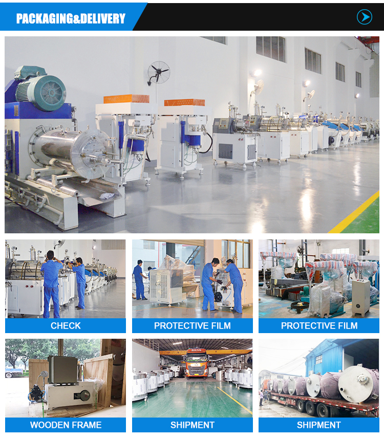 Mechanical Seal Multifunction Stirrer Planetary Butterfly Mixer Mixing Equipment for high viscosity Silicone Sealants/Adhesives