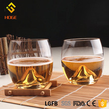 Heat Resistant Japan Mount Fuji Glass Tea Cup Kung Fu Tea Cup Iceberg Milk Coffee Wine Whiskey Shot Glass