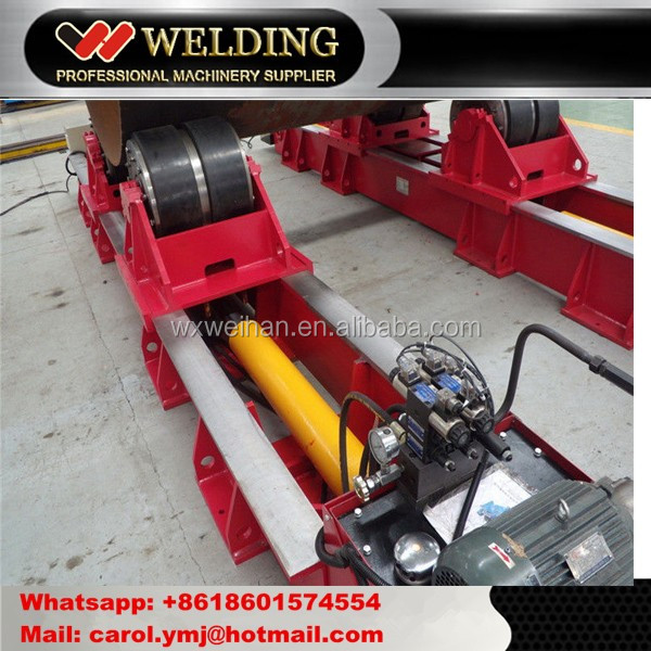 Hydraulic Steel Pipe Welding Rotators Fit up Tank Rotator for Cylinder
