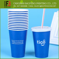 Custom Printed Popular Design Snow Cone Cups
