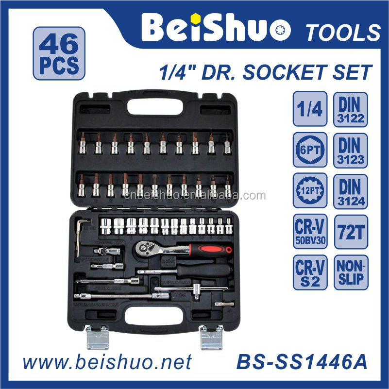 Small Size Multifunction Repair 12 Point Socket Wrench Set