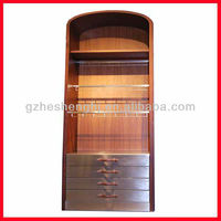 hot sale fashion shop floor freestanding display cabinet for tie