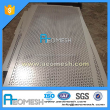 round hole 2mm stainless steel perforated metal screen sheet galvanized 2018