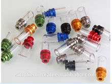 wholesale Factory Directly glass tip / glass drip tip / glass cigarette tip