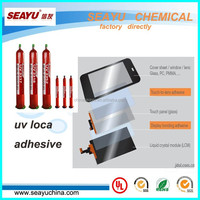 UV LOCA adhesive for touch screen panel