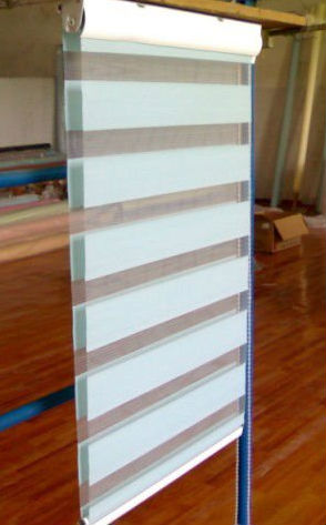 Mini Zebra Roller window blinds for decoration