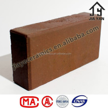 Road construction wire cut face clay paving brick