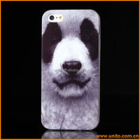 Lovely dog picture tpu cell phone cases for iphone5/glow case for iphone 5