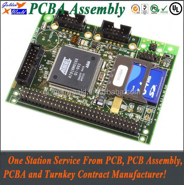 automobile electronic pcba Remote pcb board for access control system pcb design and assembly service