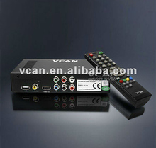 Car DVB-T TV Receiver, support MPEG-4,HE-AAC,H.264