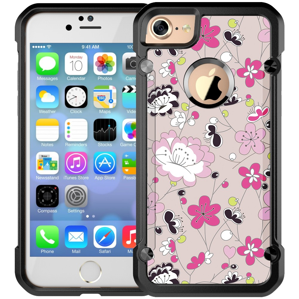 CMYK Printing Mobile Cover Custom Phone Cases For iPhone 7 Various Pattern