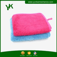 Super absorbent microfiber cleaning cloth for car cleaning