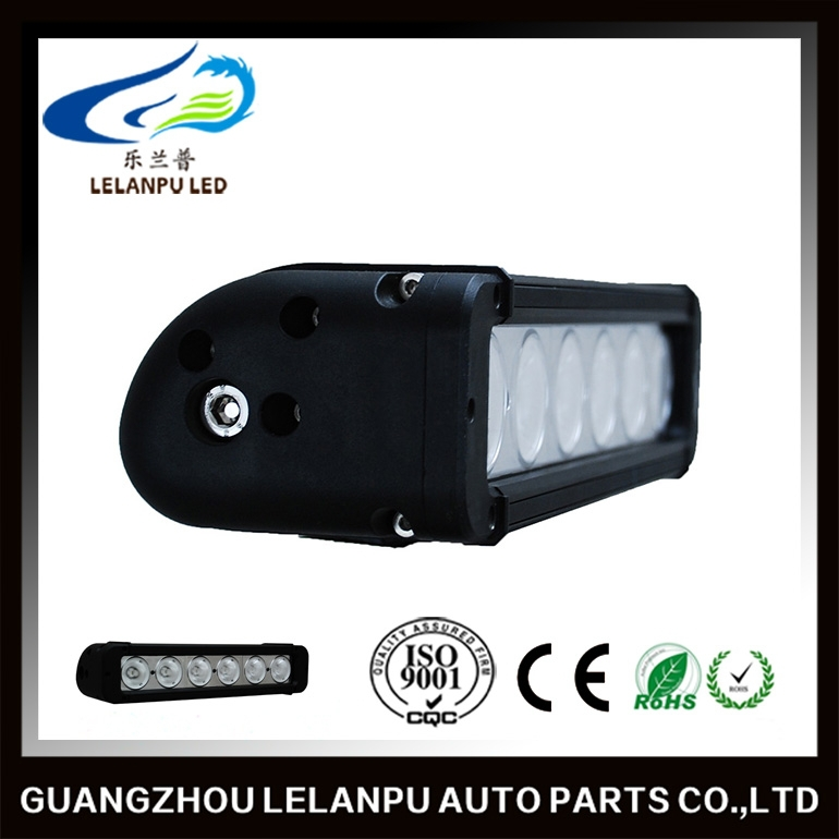 single row 60w 11inch auto led Trucks work Light bar