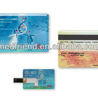 Credit Card Shaped Flash USB Drive