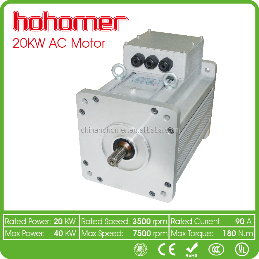 NEW GENERATION EV AC MOTOR 20KW 144V GOLF Car Urban Car Mini Bus Truck Car