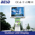 Pole standing outdoor P8, P10, P16 popular led display screen, outdoor advertising led display billboard