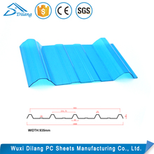 Dilang corrugated roofing polycarbonate sheet