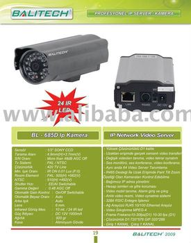 685 IP NETWORK VIDEO SERVER