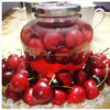 canned cherry with fresh raw material cherry fruit